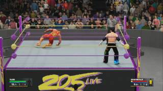 WWE 2K17 WWE 205 Live Finishers