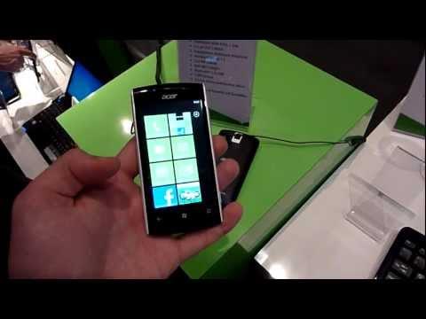 Acer Allegro Smartphone im Hands On