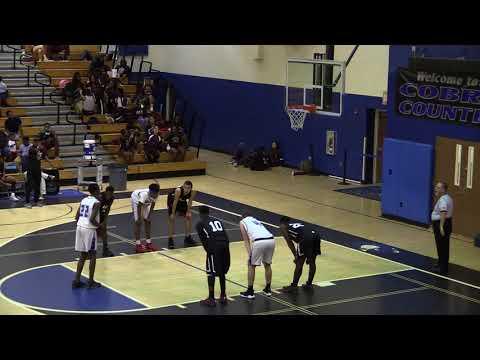 JV Basketball -  PARK VISTA 53  LAKE WORTH 51 - January 9, 2018