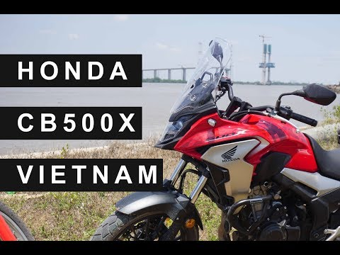 Honda CB500X - Adventure Motorbike For Traveling Vietnam