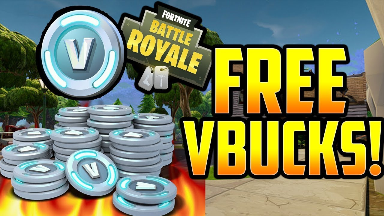 free v bucks on fortnite