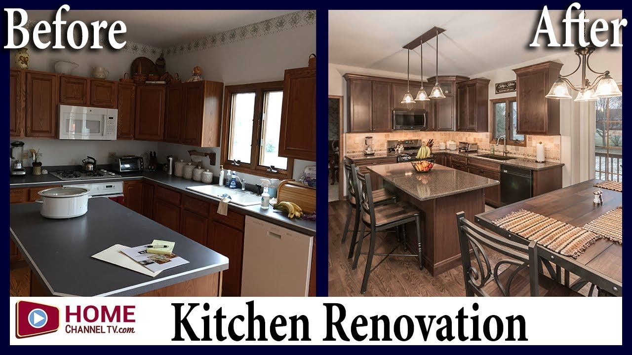 Traditional Kitchen Remodel Before Amp After Makeover