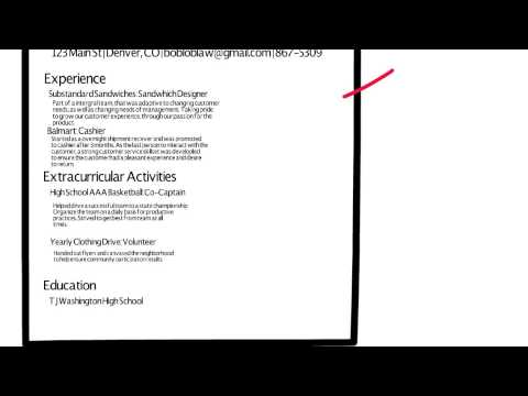 How to write a resume with little experience - YouTube - resume for little experience