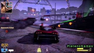 Twisted Metal 2012 - Black Rock Stadium Endurance - Amazing Deadly Map - HD