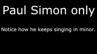"Multitrack breakdown of ""Sound of Silence"" by Simon and Garfunkel"
