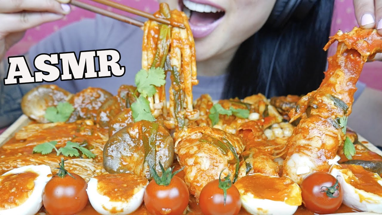 Asmr King Crab Mushroom Feast Soft Crunchy Eating Sounds No Talking Sas Asmr Youtube As for the stock that is called for in this recipe, there is quite a bit of flexibility with regards to the type of stock which best suits your palate and lifestyle. asmr king crab mushroom feast soft crunchy eating sounds no talking sas asmr