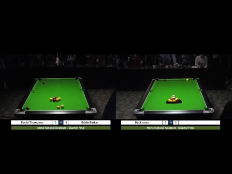 2017 Mens National Amateurs live from Vauxhall Holiday Park, Great Yarmouth