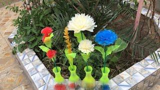 nice group of vase / handcrafts/ bonito grupo de jarrón / artesanías/ مجموعة متنوعة من المزهريات