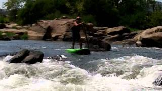 Black Dog Paddle, SUP RVA, Doug Ellis, Stand Up Paddle James River, Pipeline Rapid