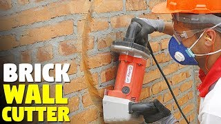 Best wall chaser with dust extractor |  Bric 35 Cortag