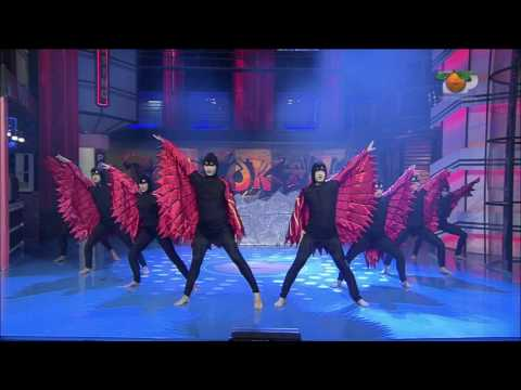 Portokalli, 30 Nentor 2014 - Baleti pantomime (Shqipja mbi flamur)