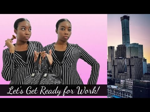 Get Ready with me for Work! | 9-5 Job in Trinidad and Tobago