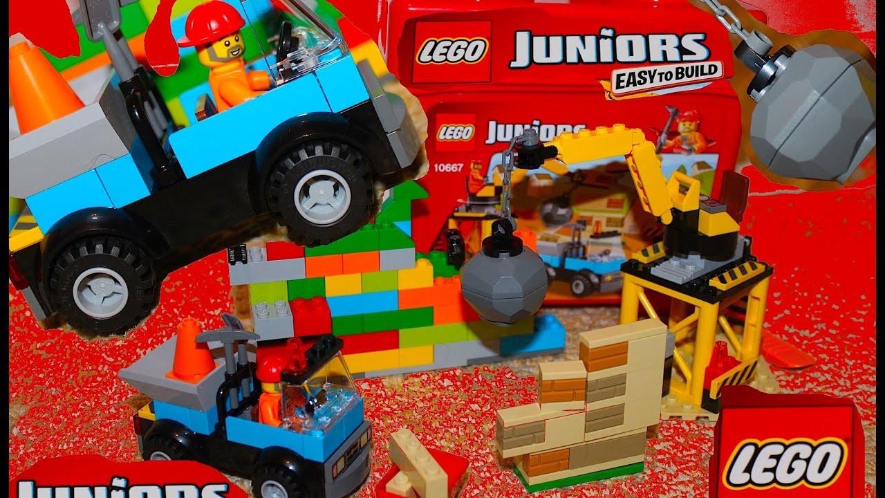 Construction Set - LEGO Juniors 10667 - Open and Build ...
