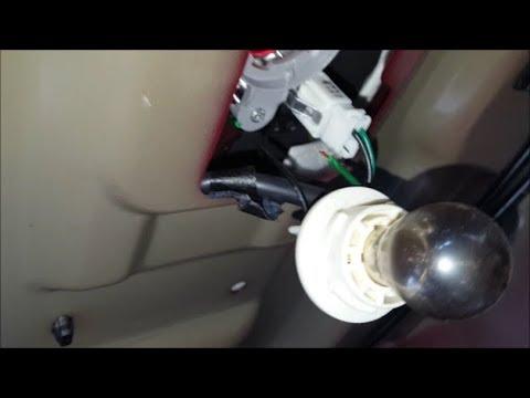 Elantra Third Brake Light Replacement Broken Green Wire Repair