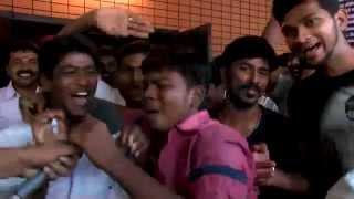 Actor Dhanush in Velai Illa pattathari (VIP) Full movie - Dhanus fans Gala Time First day first show