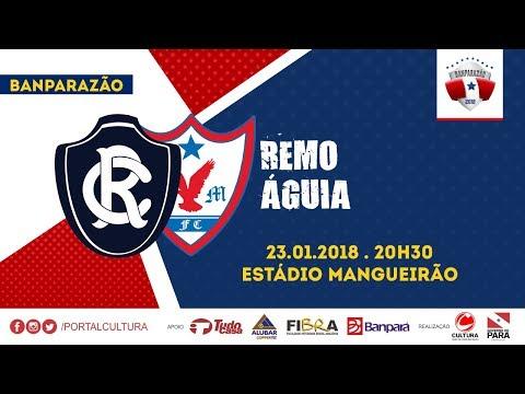 BANPARAZÃO 2018 - REMO 2X0 ÁGUIA - 23/01/2018