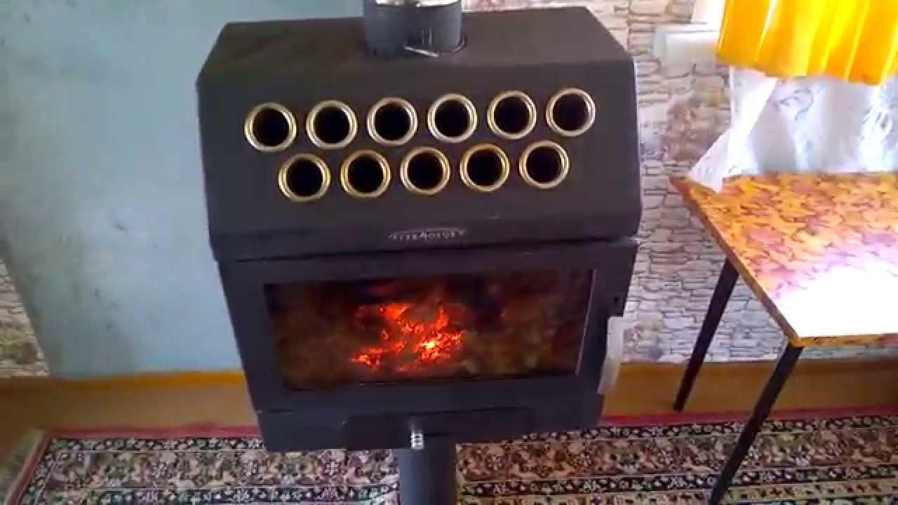 Видео обзор Печи-камина Nordica Super Max Verde - YouTube