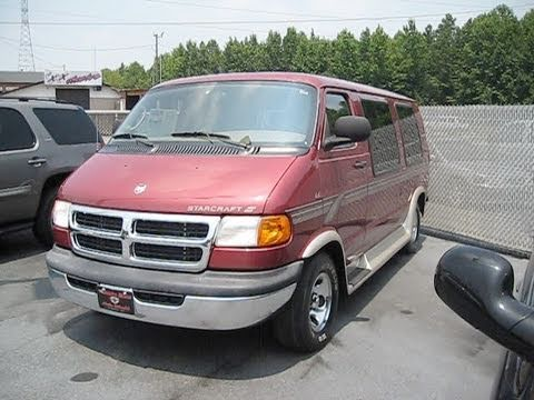 2002 Dodge Ram V8 Conversion Van Start Up Engine And In Depth Tour