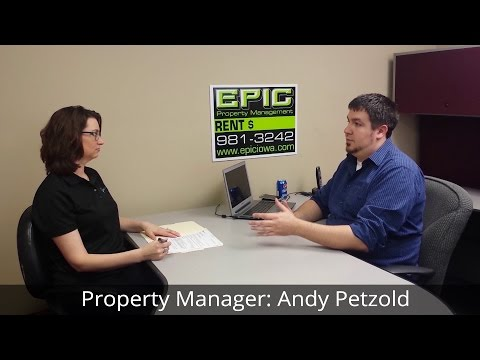 Property Manager Interview Andy Petzold