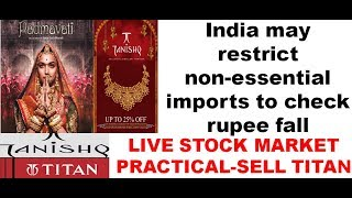 Rs. Again Fell To All Time Low...Government Planning to Curb Non-Essential Imports