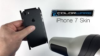 ColorWare skin installation iPhone 7 and 7 Plus