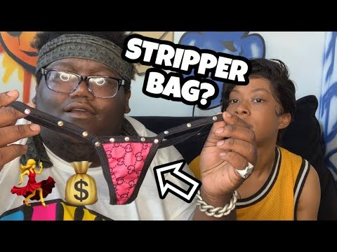 WHATS IN MY GIRLFRIEND STRIPPER BAG??? *BAD IDEA*