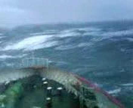 washing the windows on the Irish Sea