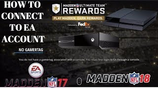 How To Connect EA Account To PS4/XBOX1 || MUT REWARDS , FUT REWARDS