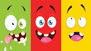 Färgsången för att lära barn de olika färgerna från Busigt Lärande