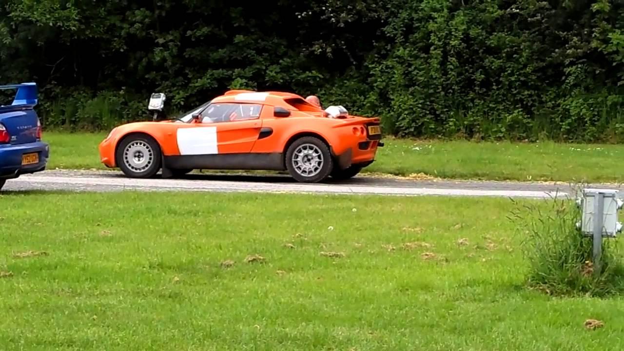 Lotus Elise Rally Car
