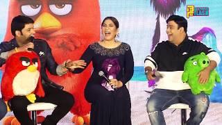 The Angry Birds 2 (Hindi) Full Movie Promotions - Kapil Sharma, Kiku Sharda & Archana Puran Singh
