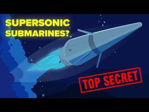 The Supersonic Submarine - New Secret US Army Development?