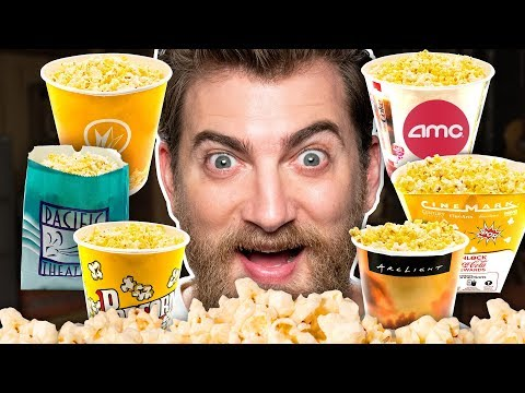 Movie Theater Popcorn Taste Test