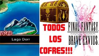 FINAL FANTASY BRAVE EXVIUS TODOS LOS COFRES DEL LAGO DORR EN ESPAÑOL   FFBE GLOBAL   GALOS PRO