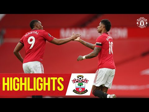 Highlights | Rashford & Martial strike as Reds draw | Manchester United 2-2 Southampton