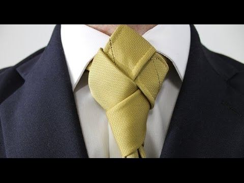How to Tie a Tie Harlequin Knot - YouTube