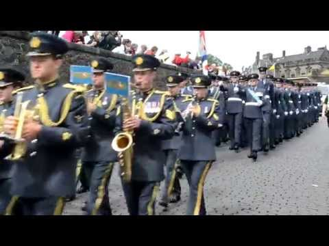 The RAF Band do armed Forces Day 2014 (Stirling)