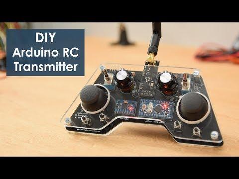 DIY Arduino Based RC Transmitter