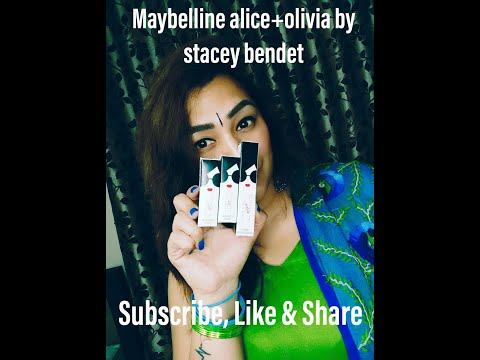 Maybelline Alice+olivia By Stacey Bendet Limited Edition