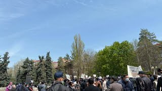 Алматыда Назарбаев жүйесіне қарсы сойқан митинг