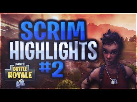 Contest - Scrim Highlights #2 (Fortnite)