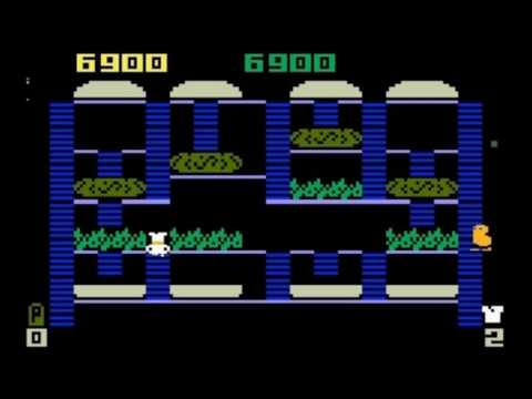 Burgertime --- MATTEL ELECTRONICS 1982 --- Gameplay Intellivision