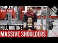 Complete Shoulder Routine for MASSIVE SHOULDERS! BBRT #5 (Hindi / Punjabi)
