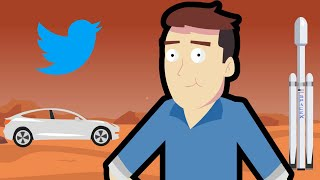 The Story of Elon Musk In 3 Minutes!