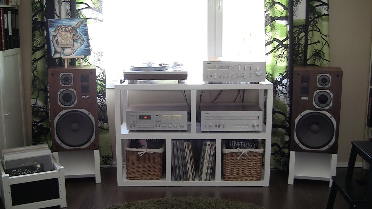 Music Room Tour May 2015 The Vinyl Corner Youtube