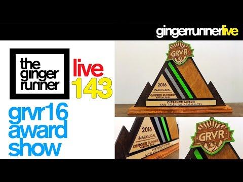 GINGER RUNNER LIVE #143 | Official Ginger Runner Virtual Run Awards Show!