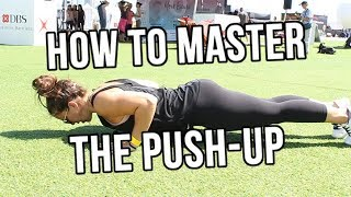 Learn the RIGHT way to do push-ups