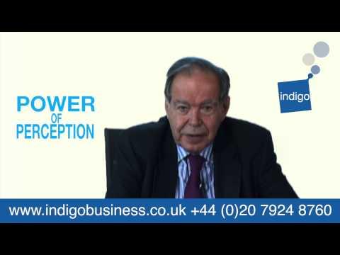 Edward de Bono - Why the Power Of Perception tools work.