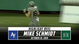 Mike Schmidt Highlights: Air Force vs. Hawaii (2019) | Stadium