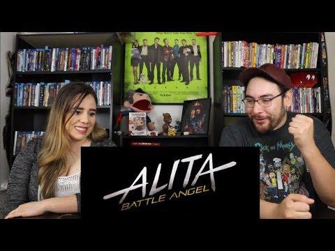 Alita BATTLE ANGEL - Official Trailer Reaction / Review